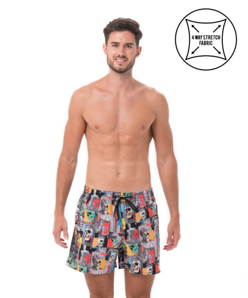 SKULPTURE ALEXIS 4 WAYS STRETCH BOARDSHORT