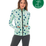 COCO BLUE BAMBOO HOODED AINA VEST