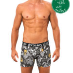 WILD GARDEN BAMBOO FITTED FIT BOXER
