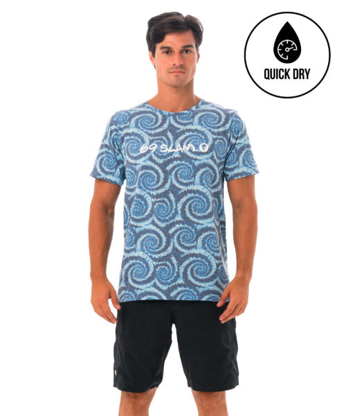 CANDY SPLASH BLUE HANS RASH TEE