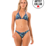 BIRD PARADISE GRACE TRIANGLE BRA